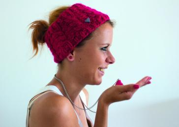 Stirnband und Cupcake Kette