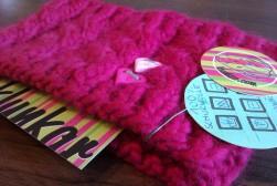 Klunkar Stirnband, pink