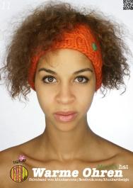 Klunkar Stirnband, orange