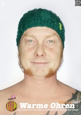 Klunkar Stirnband, smaragd