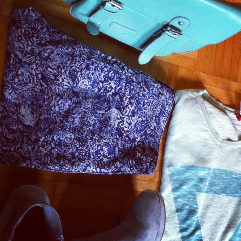 minty blue outfit 6