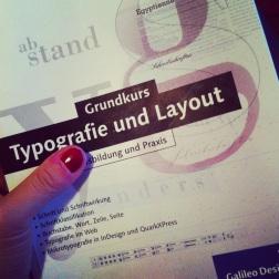 Typografie und Layout, Grundkurs