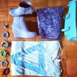 minty outfit