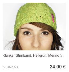 Stirnband Hellgrün